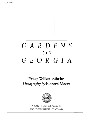 Gardens of Georgia PDF