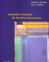 Essentials of Statistics for the Behavioral Science PDF