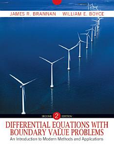 Differential Equations with Boundary Value Problems PDF