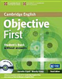 Objective First Certificate   Third Edition   Student s Book Without Answers with CD ROM PDF