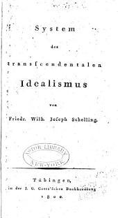 System des transscendentalen Idealismus