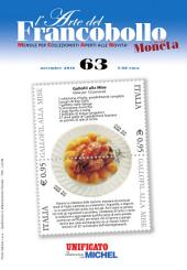 l'Arte del Francobollo n. 63 - Novembre 2016