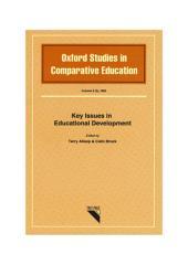 Key Issues in Educational Development