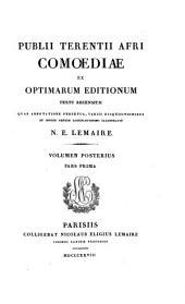 Publii Terentii Afri Comoediae ex optimarum editionum: textu rencensitae quas adnotatione perpetua, Volume 2