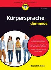 K?rpersprache f?r Dummies: Ausgabe 2