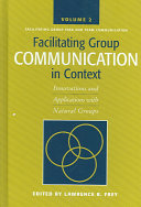 Facilitating Group Communication in Context PDF