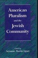 American Pluralism and the Jewish Community PDF