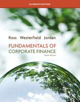 Fundamentals of Corporate Finance Alternate edition PDF