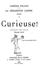 La décadence latine: éthopée, Volume2