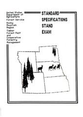 Standard specification stand exam