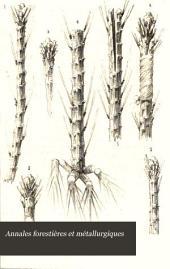 Annales forestières et métallurgiques: Volume2