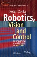 Robotics  Vision and Control PDF