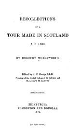 Recollections of a Tour Made in Scotland A.D. 1803: Part 1803