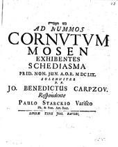 Ad Nummos Cornutum Mosen Exhibentes Schediasma