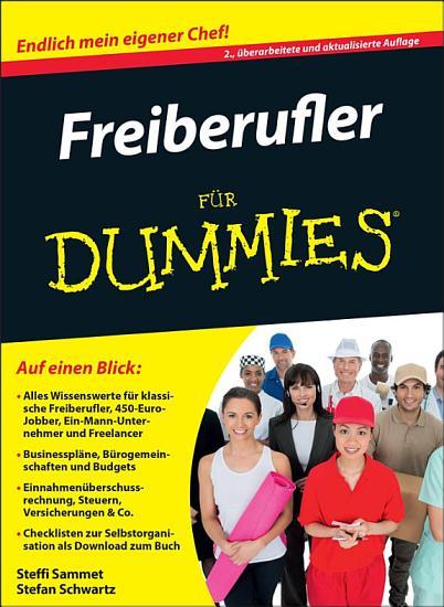 Freiberufler f  r Dummies PDF
