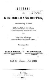 Journal für Kinderkrankheiten: Bände 2-3