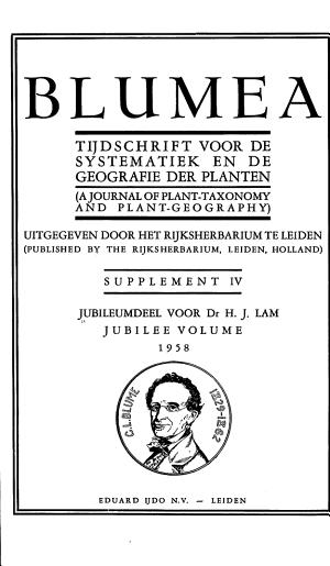 Jubileumdeel Voor Dr  H J  Lam PDF