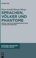Sprachen  V  lker und Phantome PDF
