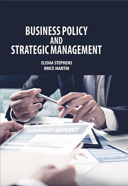 Business Policy and Strategic Management Pdf Book