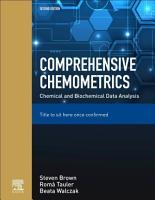 Comprehensive Chemometrics PDF