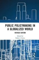 Public Policymaking in a Globalized World PDF