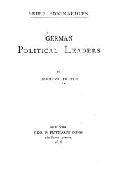 German Political Leaders