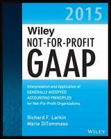 Wiley Not for Profit GAAP 2015 PDF