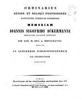 Quaestiones ad ius constituendum pertinentes: Spec. 1-3, Volume 3