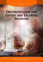 Differentiation for Gifted and Talented Students PDF