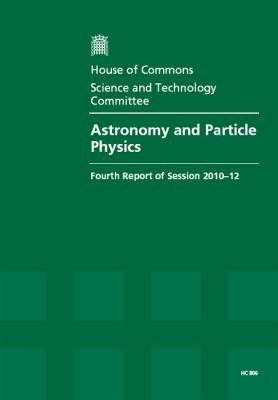 Astronomy and particle physics