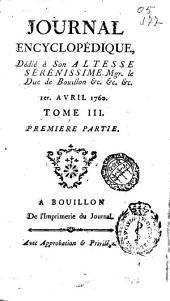 Journal encyclopedique ou Universel: Volume3,Partie1