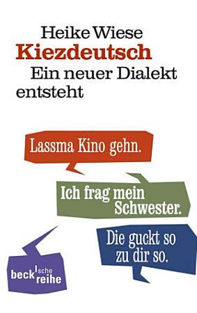 Kiezdeutsch PDF