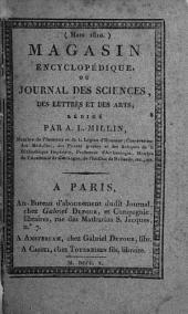 Magasin encyclopédique: ou Journal des sciences, des lettres et des arts, Volume2