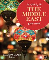 The Middle East  13th Edition PDF