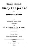 Medicinisch chirurgische Encyklop  die f  r praktische Aerzte PDF