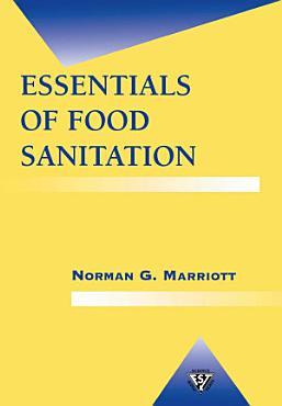 Essentials of Food Sanitation PDF