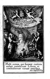 Index librorum prohibitorum: sanctissimi comini nostri Benedicti XIV. Pontificis Maximi iussu recognitus, atque editus