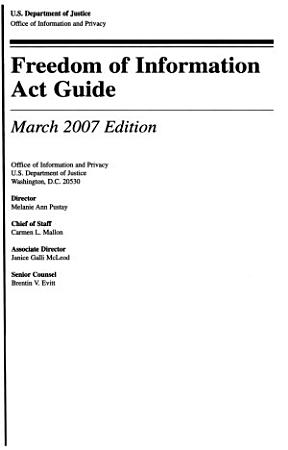 Freedom of Information Act Guide PDF
