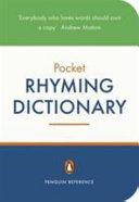 Penguin Pocket Rhyming Dictionary PDF