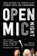 Open Mic Night Book PDF