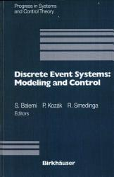 Discrete Event Systems Modeling And Control Book PDF