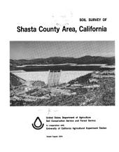 Soil survey of Shasta County area, California