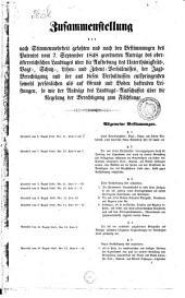 Protokoll (Protocoll) über die von den Herren Ständen des Landes ob der Enns mit Zuziehung aller Mitglieder des Landesausschusses ... zu Linz gepflogene Verhandlung