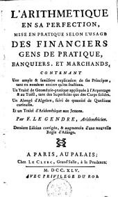 L'arithmétique en sa perfection, contenant un traité de géométrie-pratique, un abrégé d'Algèbre & un traité d'arithmétique aus Jettons