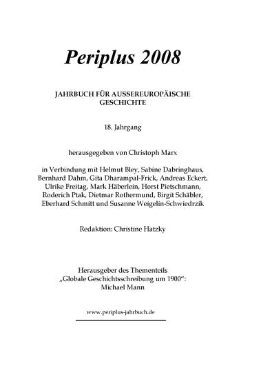 Globale Geschichtsschreibung um 1900 PDF