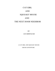Cat Girl And Squeaky Mouse And The Next Door Neighbor Book PDF