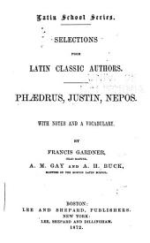 Selections from Latin Classic Authors