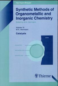 Synthetic Methods of Organometallic and Inorganic Chemistry