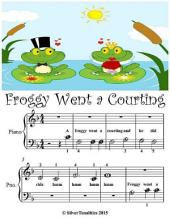 Froggy Went a Courting - Beginner Tots Piano Sheet Music