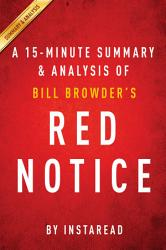 Red Notice By Bill Browder A 15 Minute Summary Analysis Book PDF